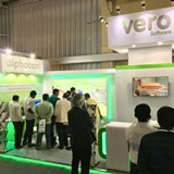 Vero Software's presence at the IndiaWood exhibition in Bangalore led to three orders for Cabinet Vision.