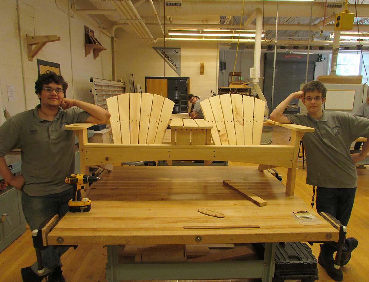 norwich technical high school carpentry program